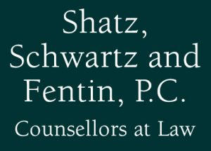 Logo of Shatz, Schwartz and Fentin, P.C.