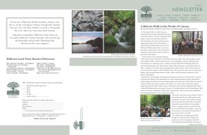 page of Hilltown Land Trust fall 2017 newsletter